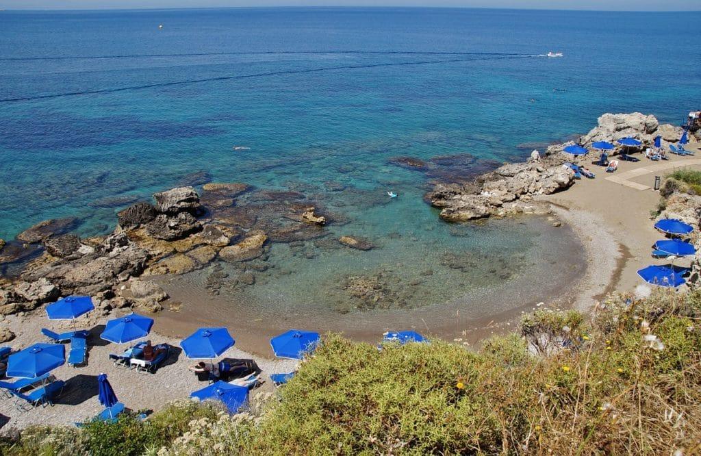 plaja Kallithea