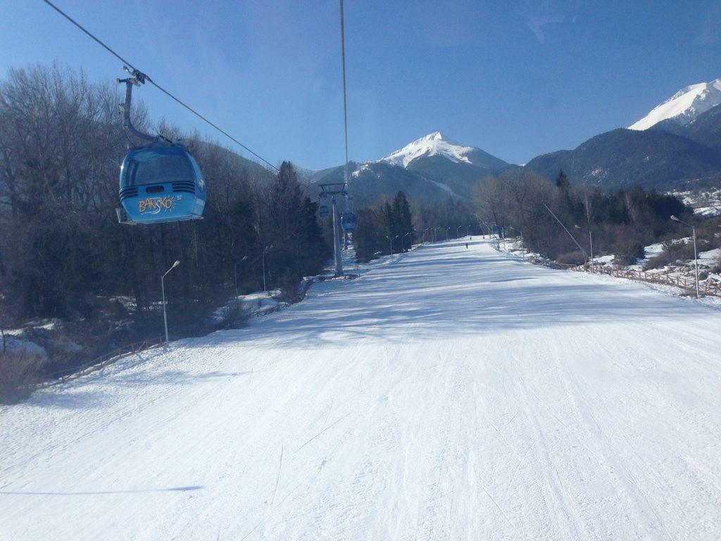 cele mai frumoase partii de ski din Bansko, Bulgaria