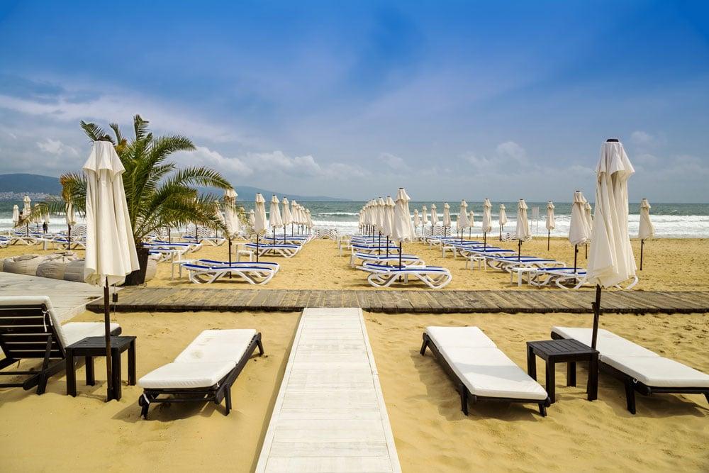 sunny beach plaja