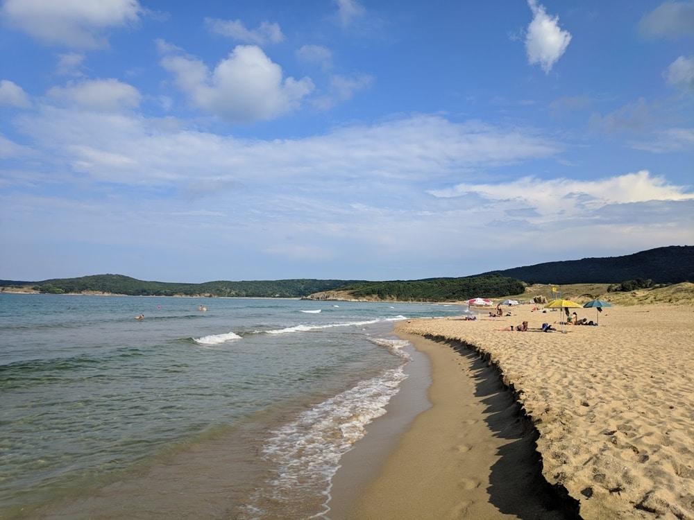 plaja arkutino