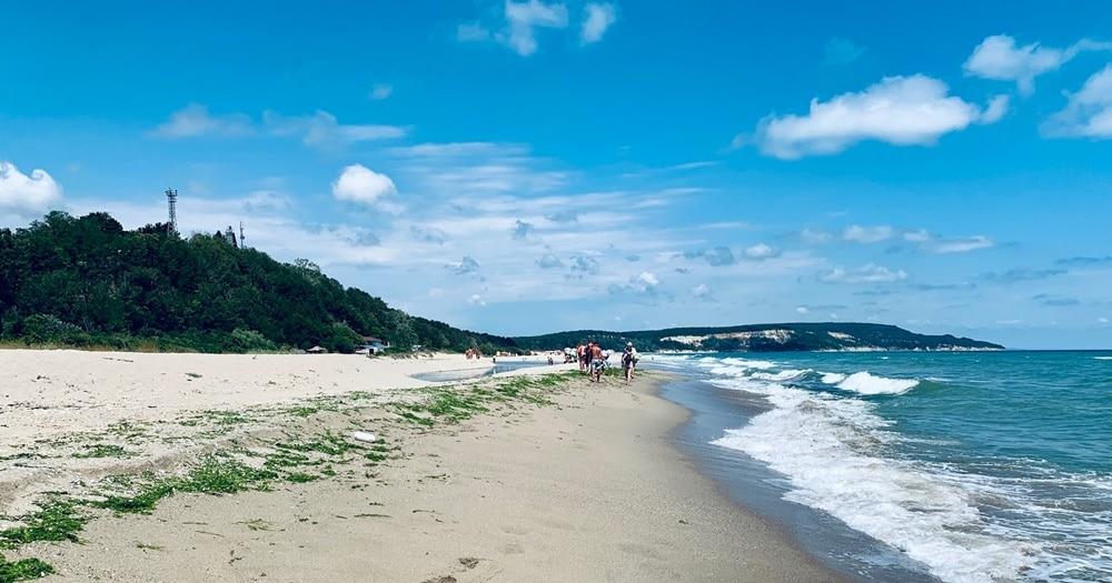 plaja kamchia