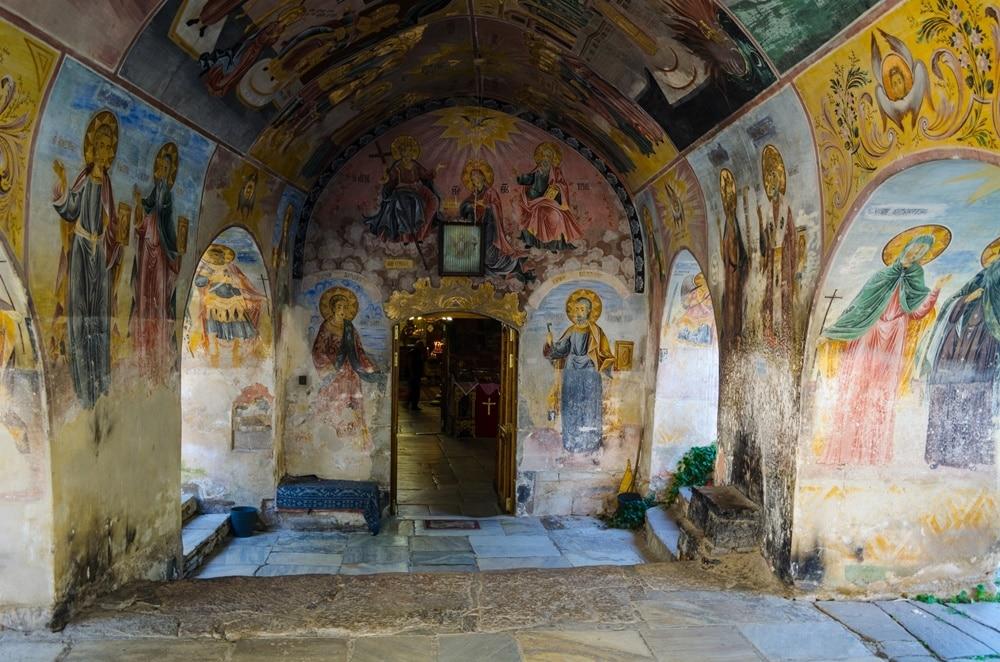 manastirea bachkovo
