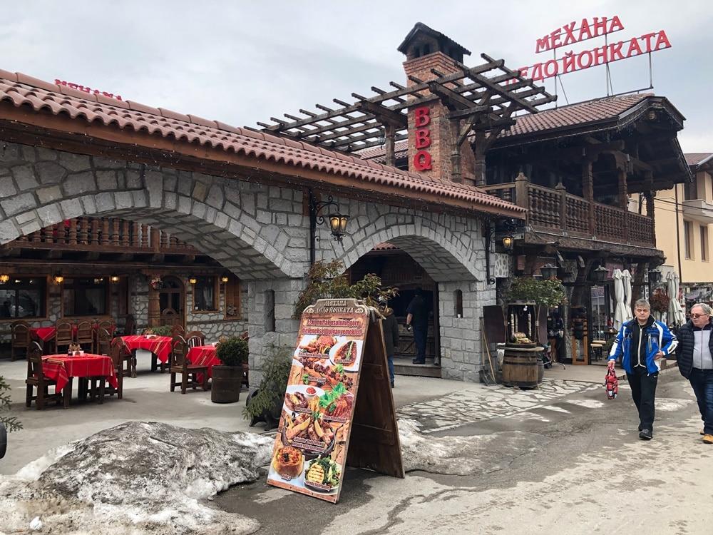 restaurante in bansko